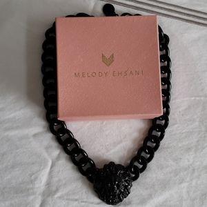Melody Ehsani Black Lionhead Necklace